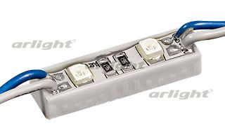 Модуль герметичный ArLight ARL-PGM3528-2 Blue