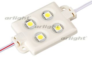 Модуль герметичный ArLight ARL-LM5050-4L-12V White