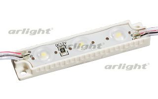 Модуль герметичный ArLight AR-PGL2835-3-12V White 160 deg